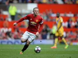 Stoke have not discussed a potential deal for Wayne Rooney. AFP