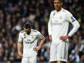 Carvajal weighted in on his team's season, AFP