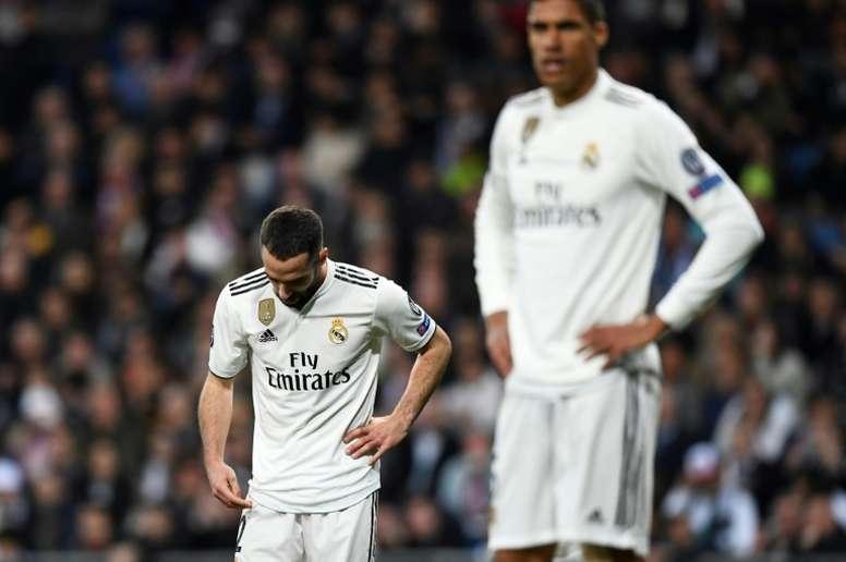 Carvajal se quedará finalmente sin poder jugar la primera jornada. AFP/Archivo