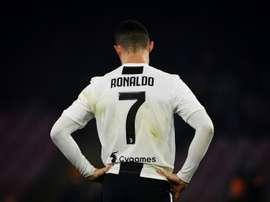 Cristiano, o rei da Champions. AFP