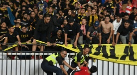Indonesia slapped with FIFA fine over match crowd trouble. AFP