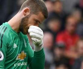 O United fez um ultimato a De Gea. AFP