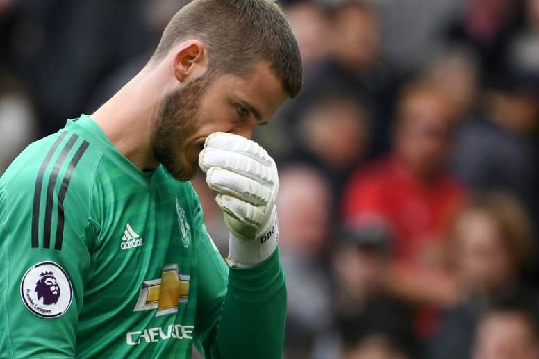 Le dilemme De Gea. AFP