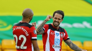 Southampton push Norwich closer to the drop. AFP