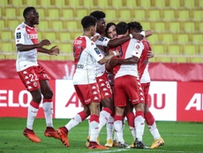 Monaco got the win. AFP
