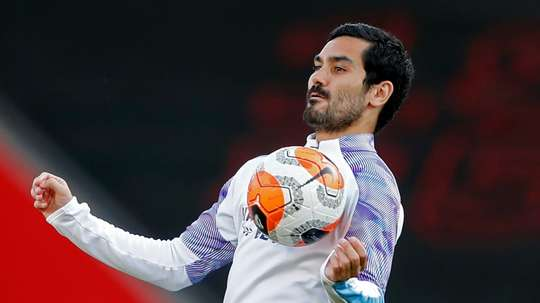 Gundogan is confident Manchester City will go through. AFP