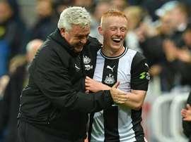 Family affair as Longstaff revels in 'dream' Newcastle debut. AFP