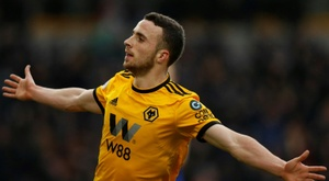 Diogo Jota, on Spurs' radar. AFP