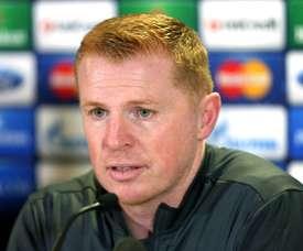Neil Lennon will be Celtic manager next season. AFP