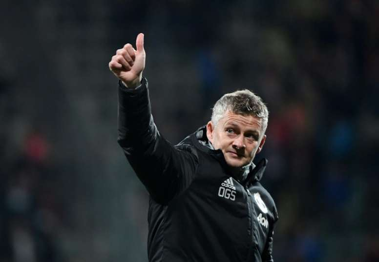 Solskjaer fait le point. AFP