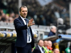 Marco Giampaolo will take over at AC Milan after leaving Sampdoria. AFP