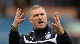 Former Leicester manager Pearson has been appointed by OH Leuven. AFP