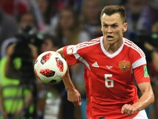 Denis Cheryshev was one of Russia's star performers at the World Cup. AFP
