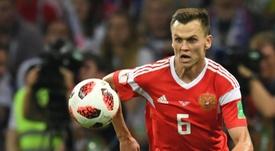 Cheryshev dans la liste de la Russie face à l'Ecosse et Chypre. AFP