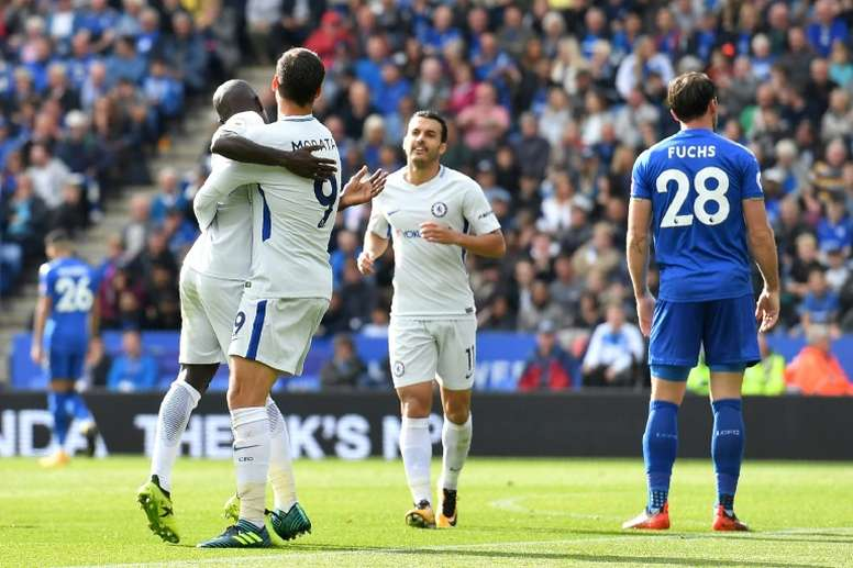 It was 2-1 at the King Power earlier this season. AFP