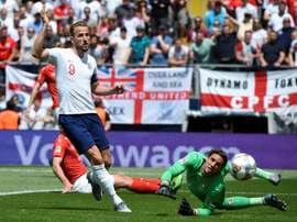 England struggled to get a goal despite superior performance. AFP