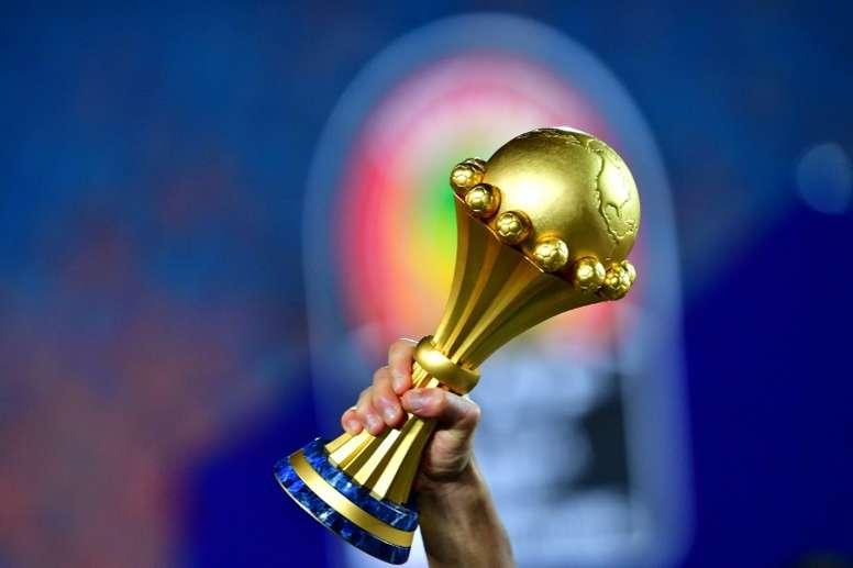 La Copa África de 2021, retrasada un año. AFP