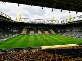 Oito casos de lesões foram registrados no primeiro fim de semana da volta da Bundesliga. AFP