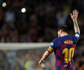 Barcelona are back in the top two fo LaLiga. AFP