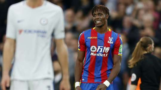 Zaha will make his long-awaited debut for Ivory Coast against Morocco on November 11. AFP