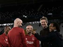 L'Ajax veut prolonger Van der Sar. AFP