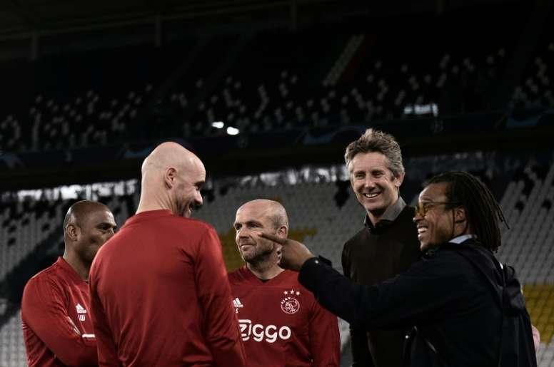 Van der Sar says big European clubs need more 'meaningful' games. AFP
