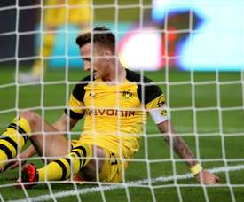 Reus dispuso de un par de ocasiones. AFP