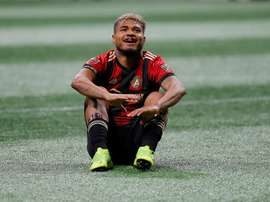 Josef Martinez has been name the MVP for the MLS this season. AFP