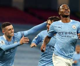 Raheem Sterling is top of the agenda for City. AFP
