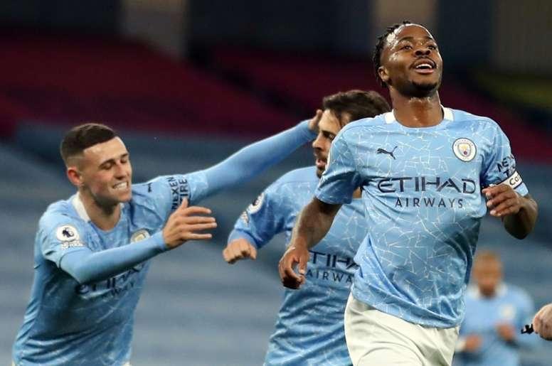 City beat Arsenal. AFP
