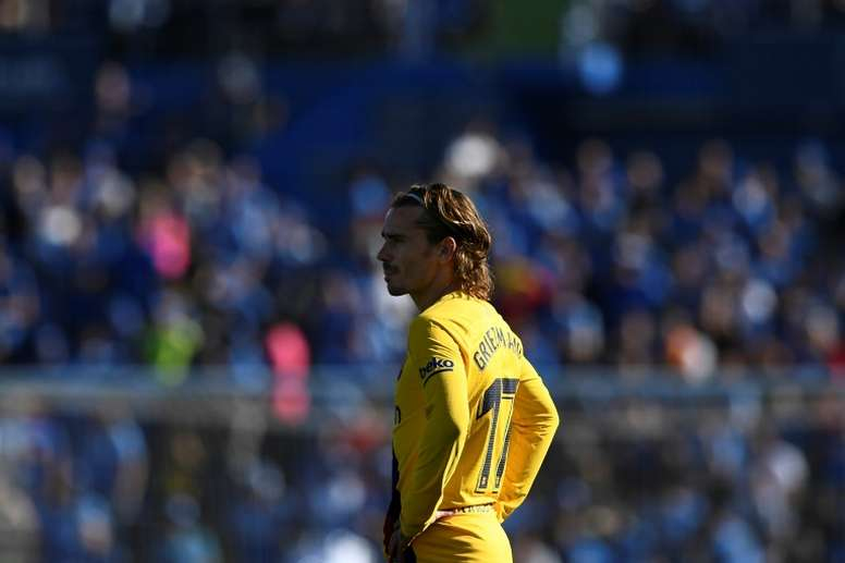Griezmann will have the support of his teammates. AFP