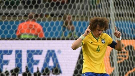David Luiz prêt à retourner en sélection. AFP
