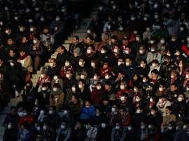 Japan suspends football over virus as Olympics loom. AFP