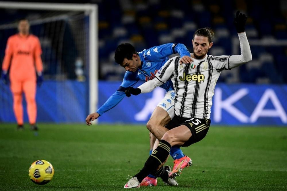 Le probabili formazioni di Napoli-Juventus. AFP