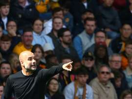 Manchester City e Wolves pela premier League. AFP