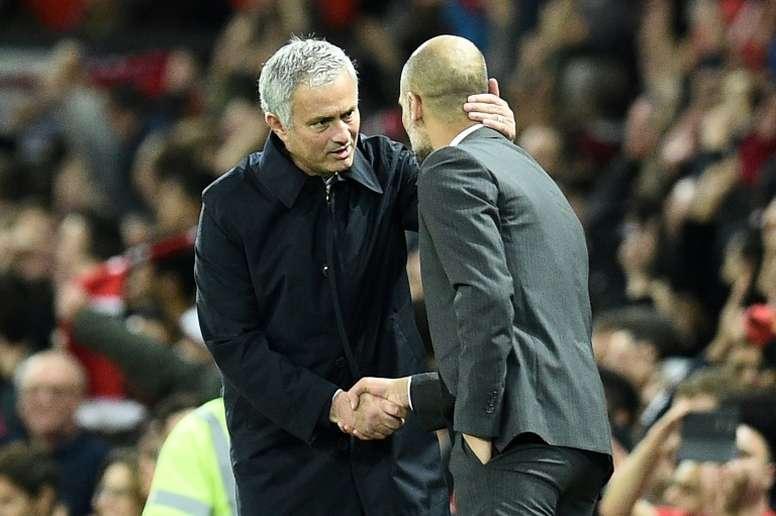 Mourinho x Guardiola: quem ganhou mais? AFP