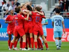US Women will enter mediation over gender equality. AFP