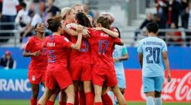 Estos son los cuartos del Mundial femenino. AFP