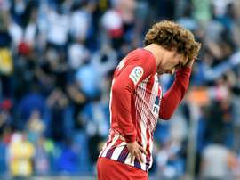 Atletico Madrid lost 3-0 away to Espanyol on Saturday. AFP