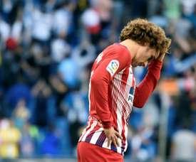 Atletico Madrid lost 3-0 away to Espanyol on Saturday. AFP