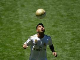 Real Madrid signing Rodrygo identifies with Neymar, Robinho. AFP