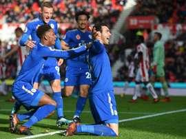 El traspaso de Iborra al Leicester ha hecho sonreír a un modesto club de Valencia. AFP