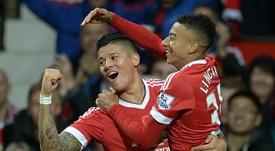 United ne veut pas renforcer Everton. AFP