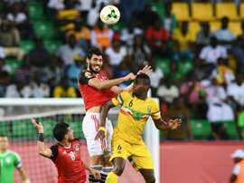 West Brom want Ali Gabr to replace Jonny Evans. AFP