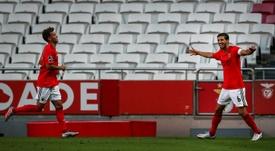 El Benfica ganó. AFP