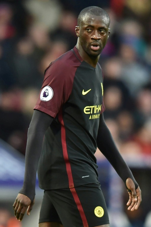 Toure would prefer to stay in the Premier League rather than move to China. AFP