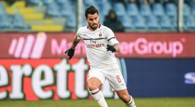 Milan must decide what to do with Suso. AFP
