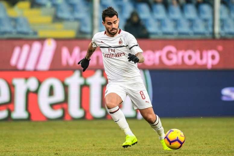 El Milan quiere atar a Suso. AFP