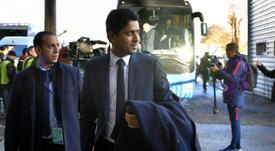 Bartomeu se reunió con el presidente del PSG. EFE