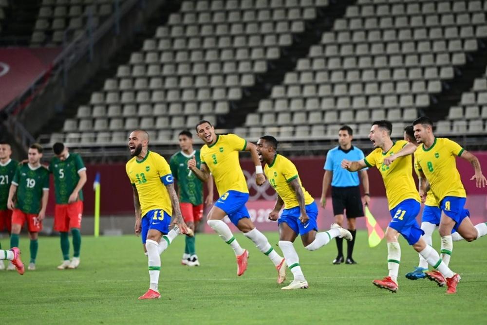 O Brasil está na final dos Jogos Olímpicos de Tóquio. AFP